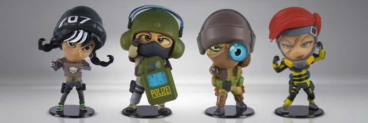 Rainbow Six Siege Chibi Figurines Collectibles Series 4