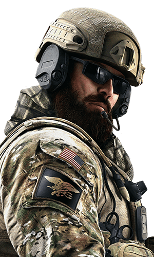 Blackbeard Portrait - Rainbow Six Siege