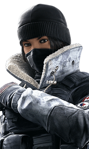 Frost Portrait - Rainbow Six Siege