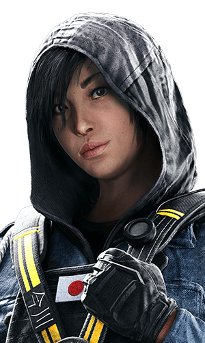 Hibana Portrait - Rainbow Six Siege