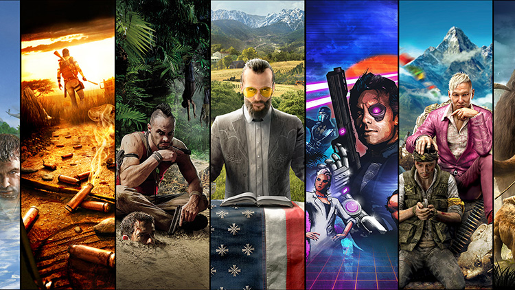 Ubisoft Offizielle Webseite Far Cry Franchise