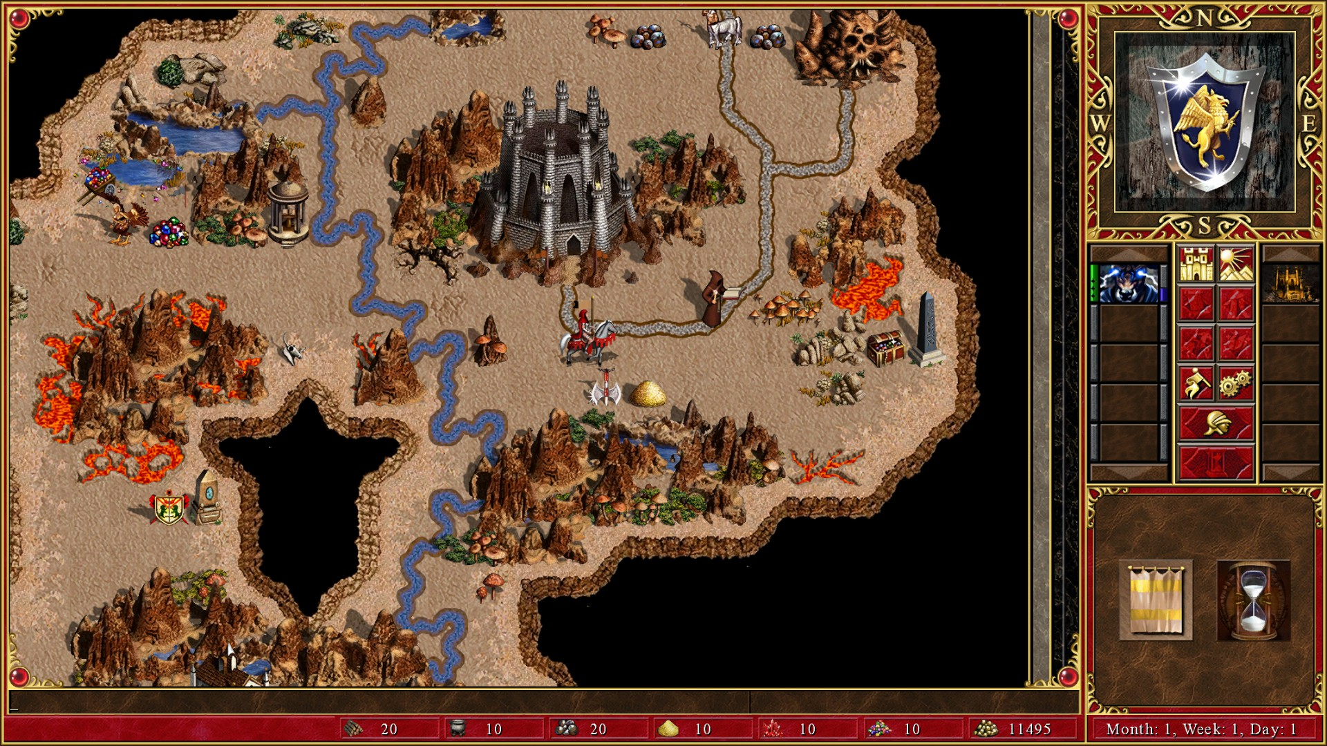 Might And Magic X World Map.Ubisoft Heroes Of Might Magic Iii Hd