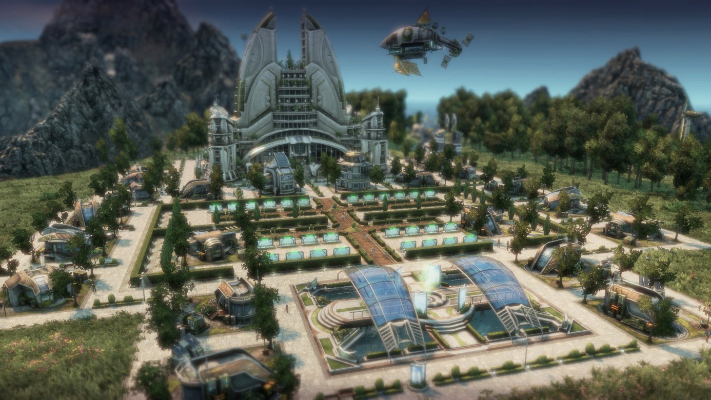 Anno 2070 deluxe edition [v 1. 03. 6860 + 3 dlc] (2011) repack rus.
