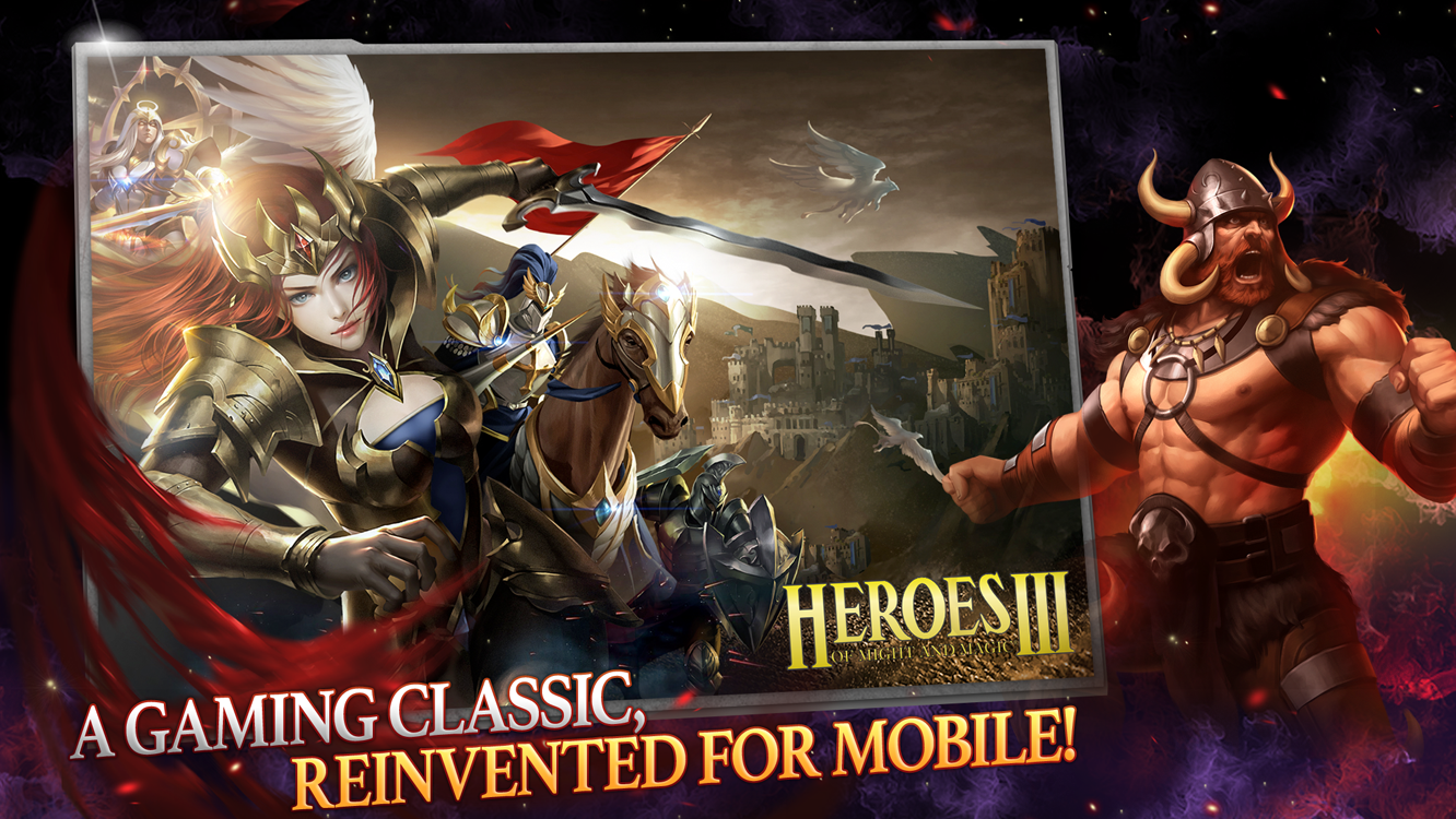 Heroes of Might and Magic III, but for mobile
