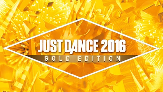 The Just Dance 2016 Gold Edition