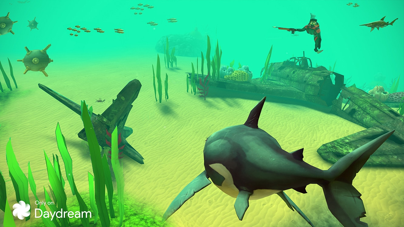 hungry shark vr apk download