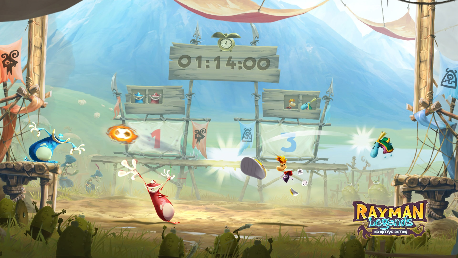 Image result for rayman legends definitive edition 1920x1080