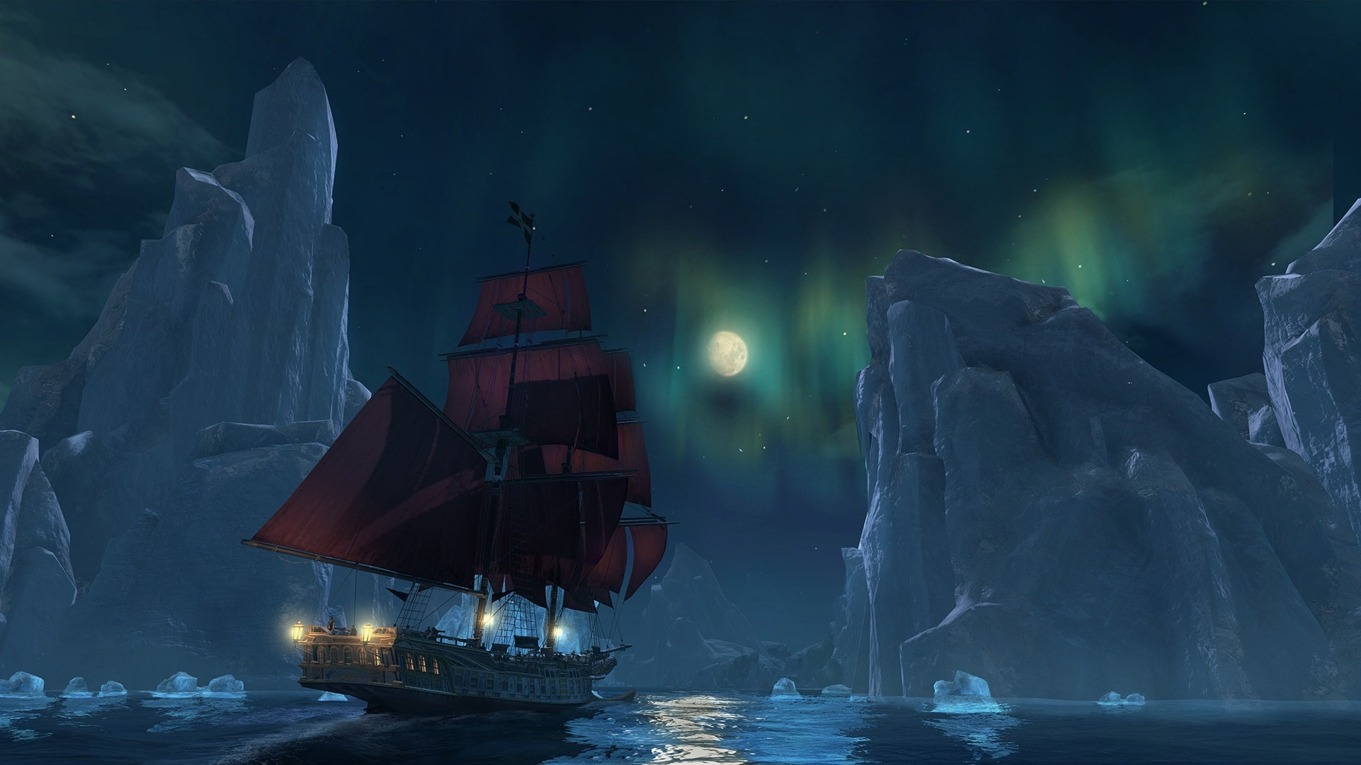 Assassin's Creed Rogue - Aurora Screenshot