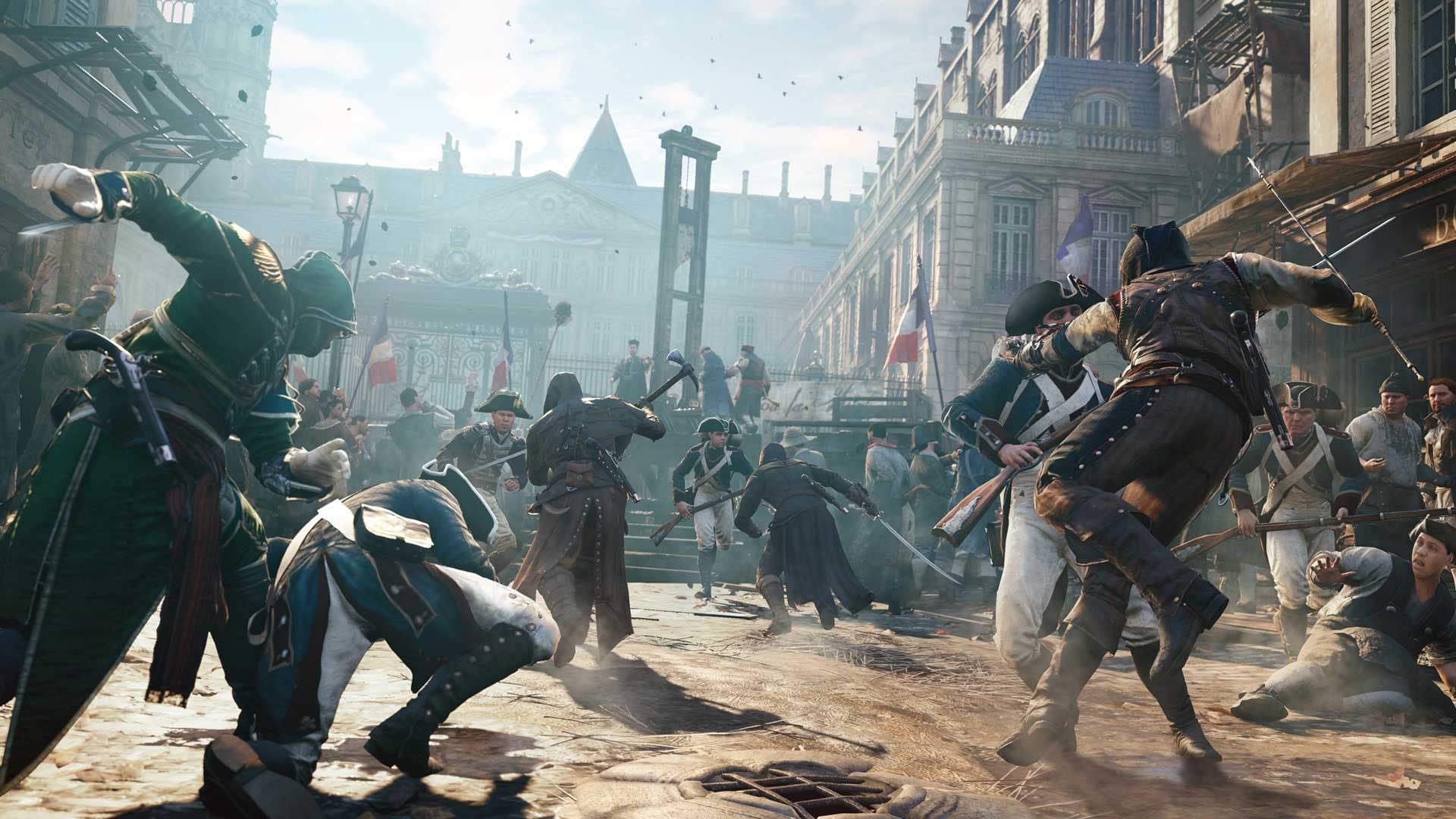 Assassin's Creed Unity - Hold the Line Screenshots