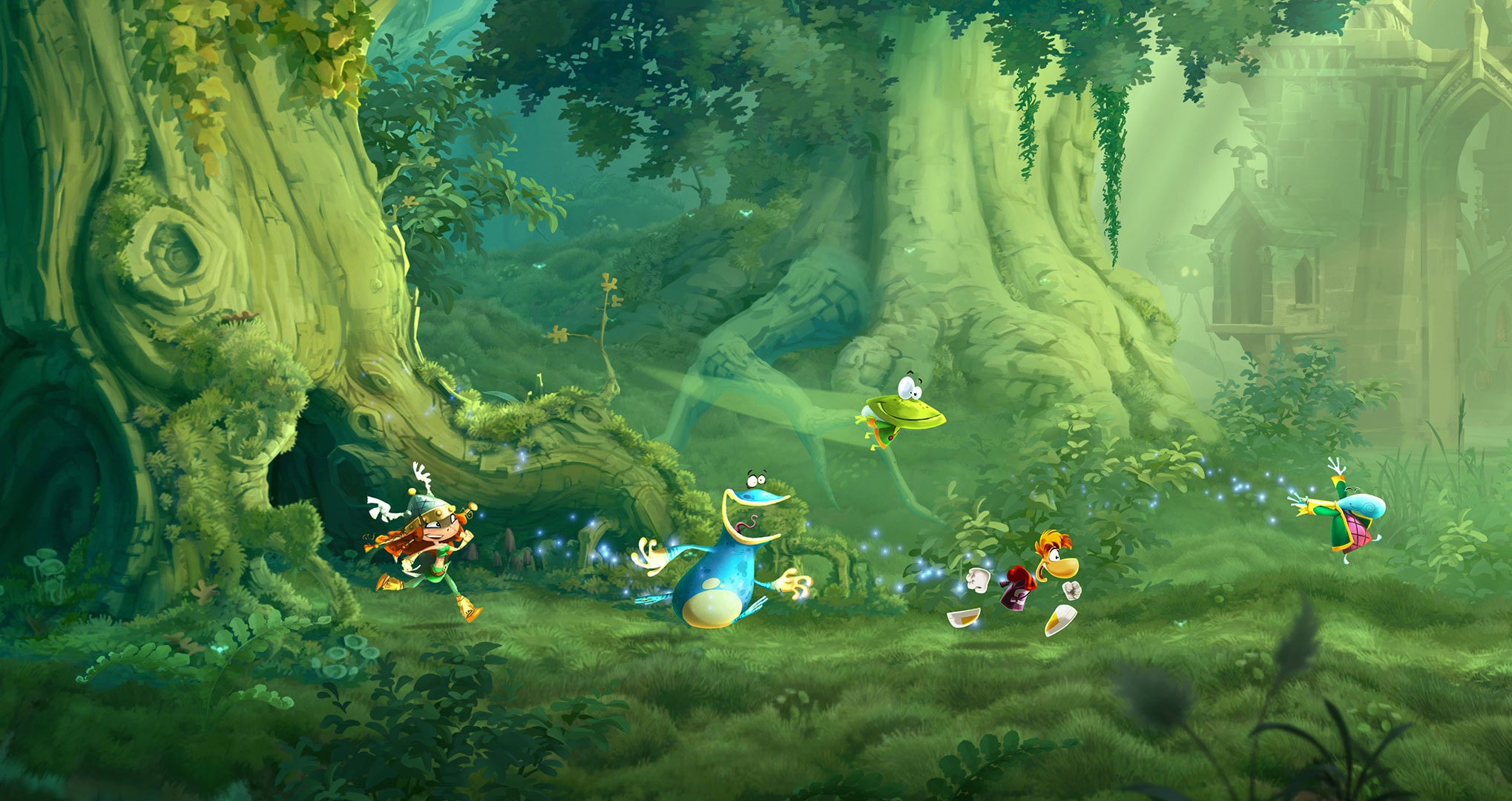 The Much Less Controversial Wii U is dead thread - let's be sad and have a little vote to work out which of the consoles games are better than the other games that happened to be released on the same console. Votes, Votes! VOTES! VOTEEEESSSSS!!!!!!!!!!!!! - Page 6 Raymanlegends_screenshot_lushjungle_gc_160462