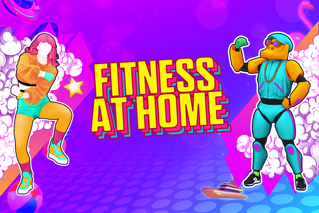 JD20_Fitness at home with Just Dance 2020!