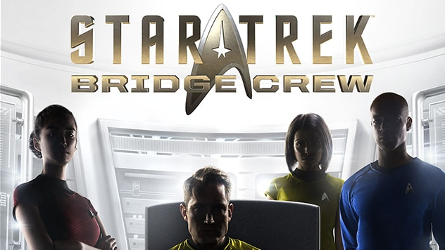 Star Trek Bridge Crew Virtual Reality Game Boxart