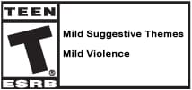 ESRB T With Descriptors