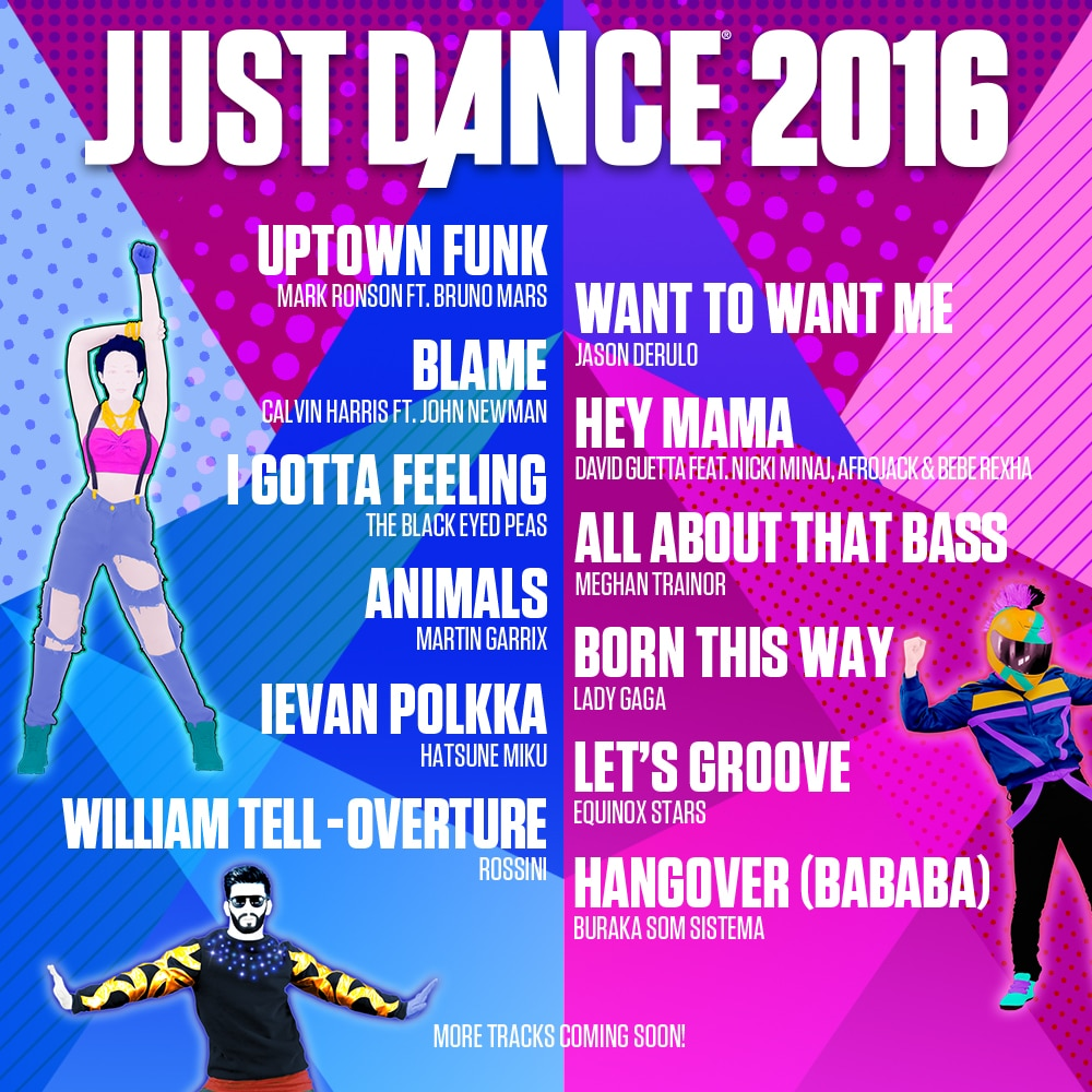 ubisoft just dance 2016. Black Bedroom Furniture Sets. Home Design Ideas