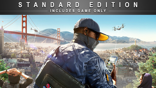 Watch Dogs 2 Standard Edition - PS4